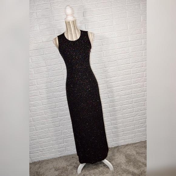 a05c0ac62a589 Byer Studio Dresses   Skirts -  vintage byer studio  Glittery Maxi Dress